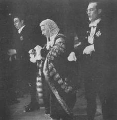 "Ivor Evans, Peter Pratt and Leonard Osborn in ""Iolanthe"""