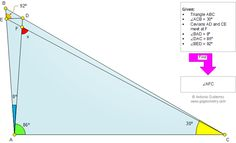 My new Geometry Problem 820: Triangle, Cevian, Angles, 30 Degrees. Level: High School, College, Mathematics Education, Teaching