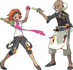 pokemon xy trainer art - Google 検索