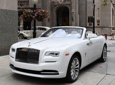 a 2019 Rolls-Royce Dawn White Rolls Royce, Rolls Royce Dawn, Dream Cars, Goals, Future, Ring, Anime, Wedding, Collection