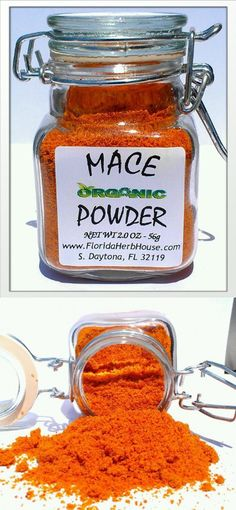Mace Ground 2.0 oz. (56g) - Organic Eco Friendly Gifts! - Eco-Spices!