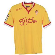 Real Sporting de Gijón (Spain) - 2015/2016 Kappa Third Shirt
