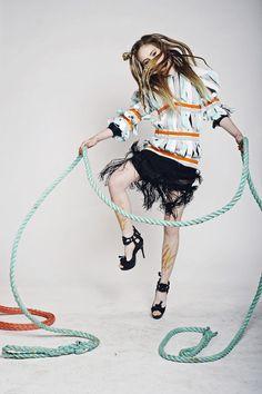 Kids Fashion Photography, Children Photography, Fashion Shoot, Editorial Fashion, Scandinavian Fashion, Skipping Rope, Summer Collection, Kids Playing, Photoshoot