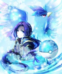 Pokemon Conquest - Mitsuhide & Articuno