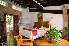Suite El Estudio Hotel Mi Casita, Taxco Mexico.  http://www.hotelmicasita.com/