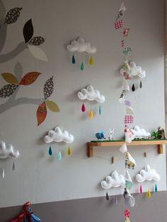 部屋の壁全体に飾るとまるでおもちゃ箱やプレイランドに来たみたい。