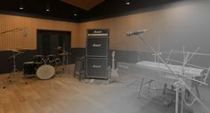 3d Record Studio with stuff. Created in #3dsmax #Vray and rendered in @rebusfarm