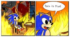 This Is Fine by Drawloverlala
