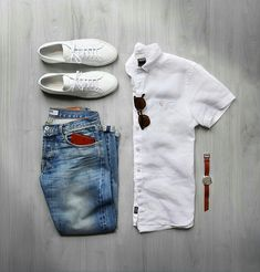 A White Shirt is the most essential piece in anymen's wardrobe. It's comfortable, classy, versatile and always looks great almost everything. Here's how to wear white …