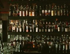 Broken Record Bar - SF (near cow palace). Listed as one of the 22 best whiskey bars in the country (by thrillist.com).