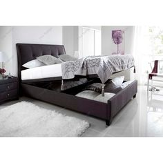 £713.99 You'll love the Koroit Upholstered Ottoman Bed Frame at Wayfair.co.uk - Great Deals on all Furniture  products with Free Shipping on most stuff, even the big stuff.