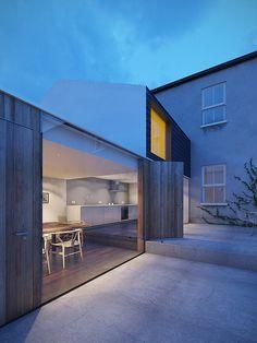 Dublin House Extension Dusk by Daniel James Hatton, via Flickr