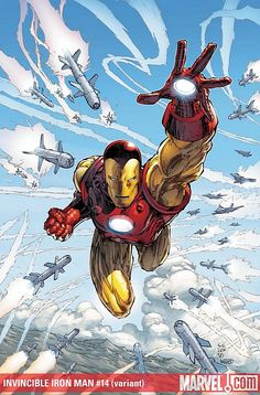 Iron Man #14 (variant) - Cover by Marc Silvestri