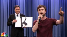 "Daniel Radcliffe Raps Blackalicious' ""Alphabet Aerobics"" ...... Love this one..."
