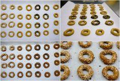 τραγανά κουλουράκια με ελαιόλαδο και πορτοκάλι Doughnut, Cereal, Breakfast, Desserts, Food, Morning Coffee, Tailgate Desserts, Deserts, Essen