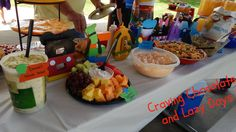 Mickey Mouse Clubhouse Birthday Party Food