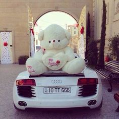 I want the bear.. The car would be nice too!