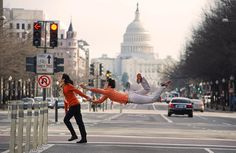 Applying Ballet To Daily Tasks - People & Lifestyle Gallery