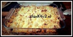 Tagged with zuurkool. Dutch Recipes, Low Carb Recipes, Cooking Recipes, Sauerkraut, Good Food, Yummy Food, Ground Beef Casserole, Atkins, Oven Dishes