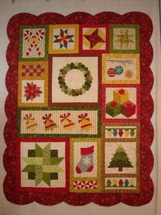 Image detail for -... series of free patterns, a Christmas quilt called Jingle Bell Square