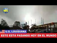 Impactante tornado arrasa con sistema eléctrico en Baton Rouge, Louisiana