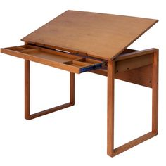 Ponderosa Drafting Table  If only I had the room...