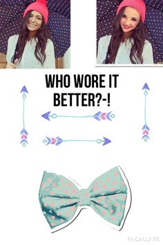 Who wore it better?-!bethany