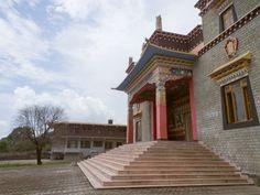 A Tibetan Monastery, Dharamsala, India #tibet #india # dharamsala #himachal #buddhism #culture #Kamalan