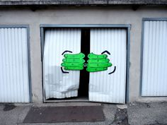 #StreetArt #UrbanArt - Oakoak