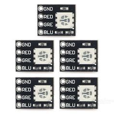 Mini FR4 RGB LED Module for Arduino / Raspberry Pi (5 PCS) - Black. Find the cool gadgets at a incredibly low price with worldwide free shipping here. Mini FR4 RGB LED Module for Arduino / Raspberry Pi (5 PCS) - Black, Other Accessories, . Tags: #Electrical #Tools #Arduino #SCM #Supplies #Other #Accessories