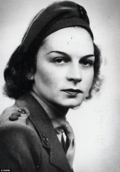 Heroine: Didi's sister Jacqueline also served as an SOE agent during World War II (transmitting messages from the Nazis to the British) but returned to Britain exhausted in 1944