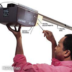 How to replace torsion springs on garage door garage for Garage repar vite villeurbanne