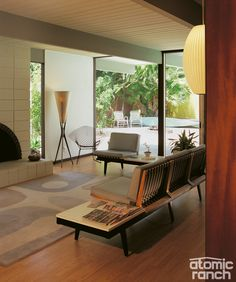 Mid Century Homes Style- Modern Interior Design Decor Ideas