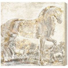 "Mercury Row Brilliant Equestrian Graphic Art on Wrapped Canvas Size: 16"" H x 16"" W x 1.5"" D"