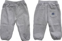 cute grey pants for baby in 100% cotton from the Danish brand Holly's
