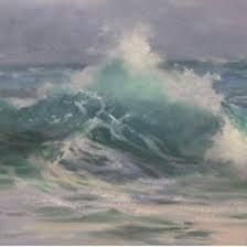 Image result for painting the eye of a wave