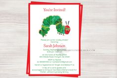 Very Hungry Caterpillar  Baby Shower by DetailsBeyondDesign, $1.80