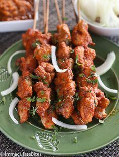 Chicken Suya with African Pepper Sauce