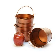 "5"" mini pail copper color"