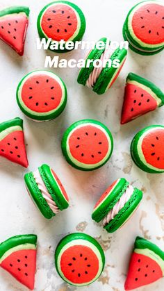 French Macaroon Recipes, French Macaroons, Macarons, Macaroons Flavors, Macaroon Cookies, Sugar Cookies, Cute Cookies, Fun Baking Recipes, Cookie Recipes