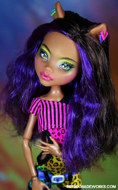 Trade- Clawdeen for Jeremie by Retrograde Works