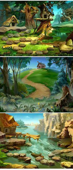 It looks like Where the Woods Grow Wild!