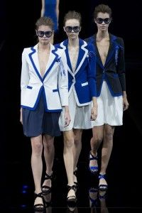 Emporio Armani Ready To Wear Spring/Summer 2015 Collection