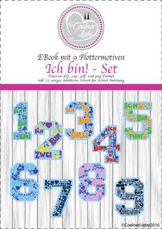 Weiteres - EBook Ich bin! - Das ganze Set (private Nutzung) - ein Designerstück von CoelnerLiebe bei DaWanda