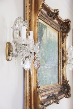 Oil painting/Louis XV Frame Anita Rivera
