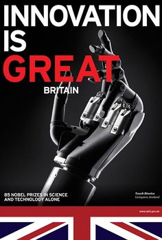 Awesome Great Britain campaign, so simple.