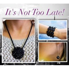 Purchase any other item in our collection now through February 28th to receive our beautiful Black Beauty set for just $45 (retail price is $69)!  #justjewelry #jewelry #fashionjewelry #fashionaccessories #special #discount #incentive