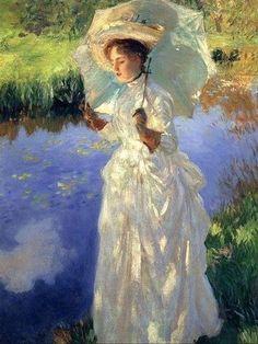 John Singer Sargent, 1856-1925. A Morning Walk
