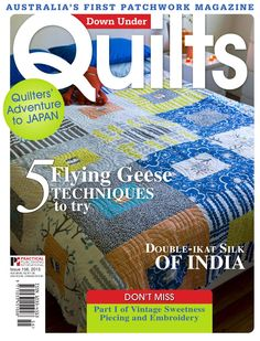 Down Under Quilts 156 Free Free quilting magazines