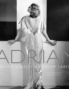 adrian designer | Adrian: Silver Screen to Custom Label — Frankel's Costume